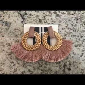 Boutique earrings. Never worn!